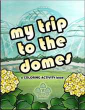 My Trip to the Domes Coloring Book