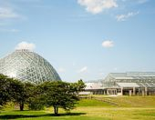 Domes Greenhouse addition in 2014
