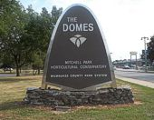 Domes Sign installed in the 1980s
