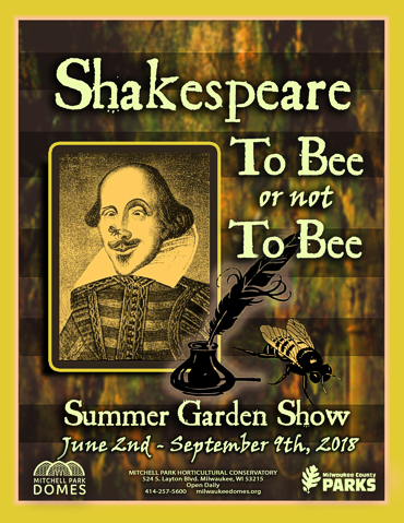 Shakespeare to Bee or not to Bee Summer Garden Show